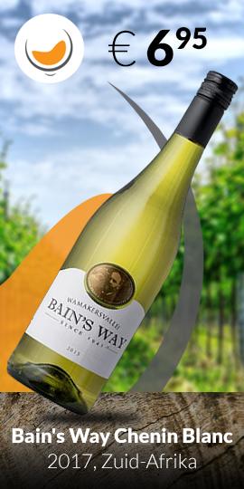 Aanbieding: Bain's Way Chenin Blanc 2017 Zuid-Afrika