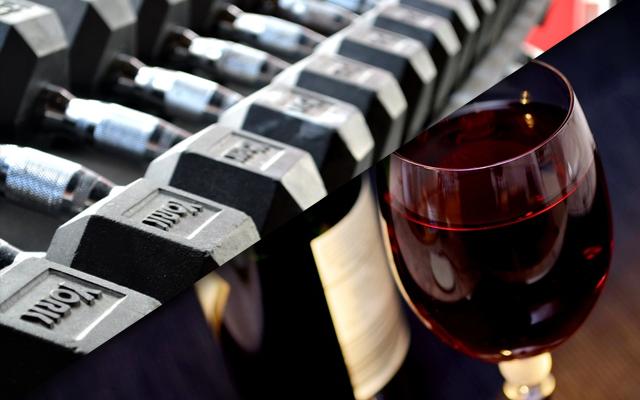 Rode wijn of een uurtje in de Gym?
